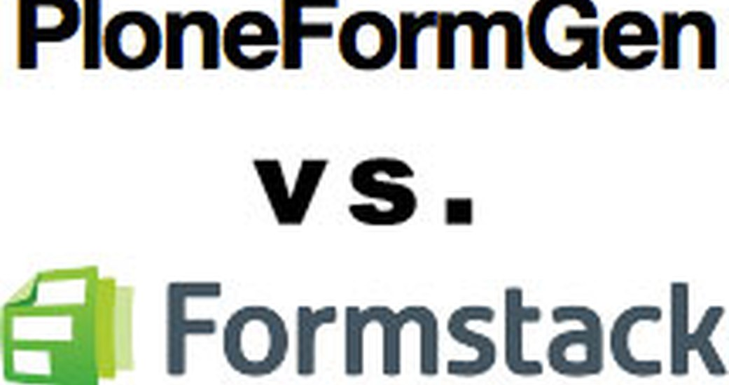 Forms in Plone - PloneFormGen vs. Formstack