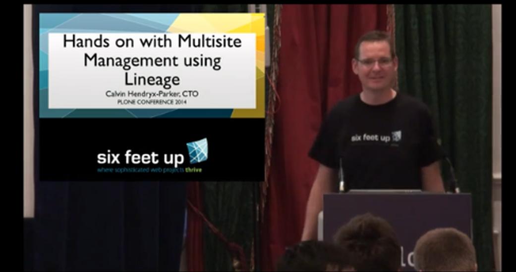 Multisite Management using Lineage (PC14 Recap)