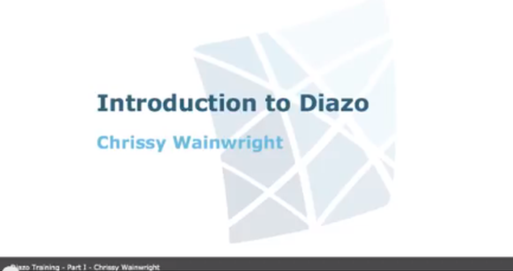 How to use Diazo for Plone Theming