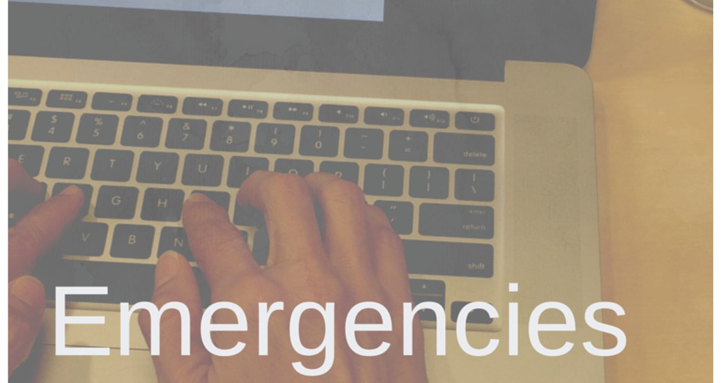 New PAQs start with how to submit your Emergency
