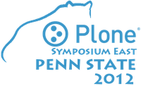 Logo from the latest Plone Symposium East Conference at Penn State University.