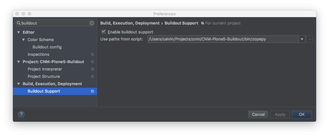 PyCharm Configured