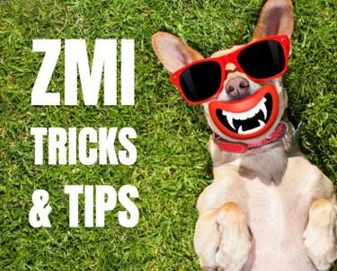 ZMI Tricks and Tips
