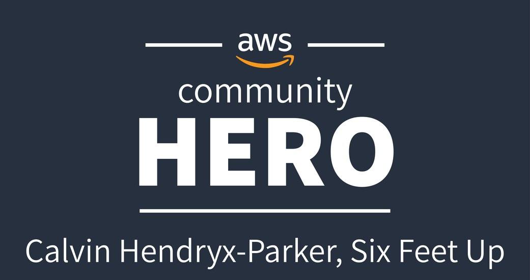 Calvin Hendryx-Parker Named AWS Community Hero