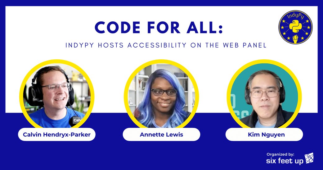 Code for All: IndyPy Hosts Accessibility Panel