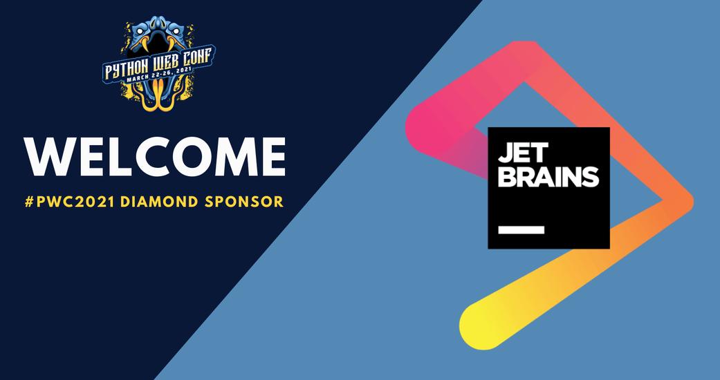 JetBrains Returns to Python Web Conference as Diamond Sponsor