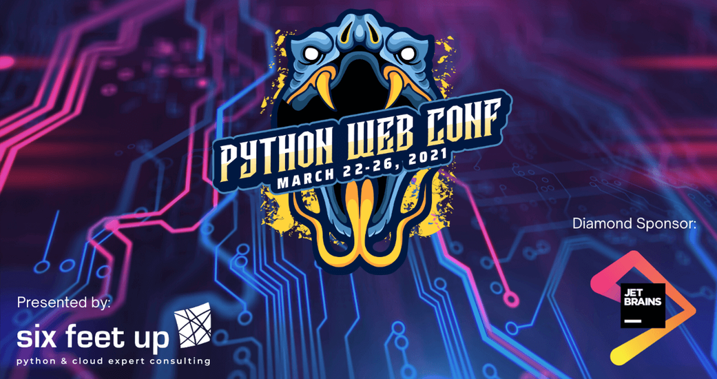 300 Pythonistas Attend Six Feet Up's 3rd Annual Python Web Conference