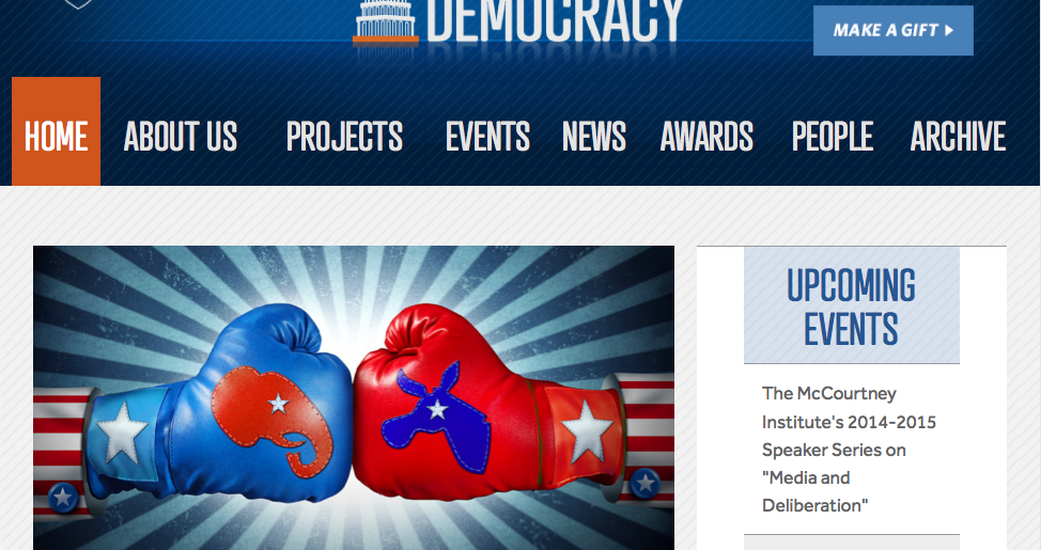New Responsive Plone Site for Penn State's Institute for Democracy