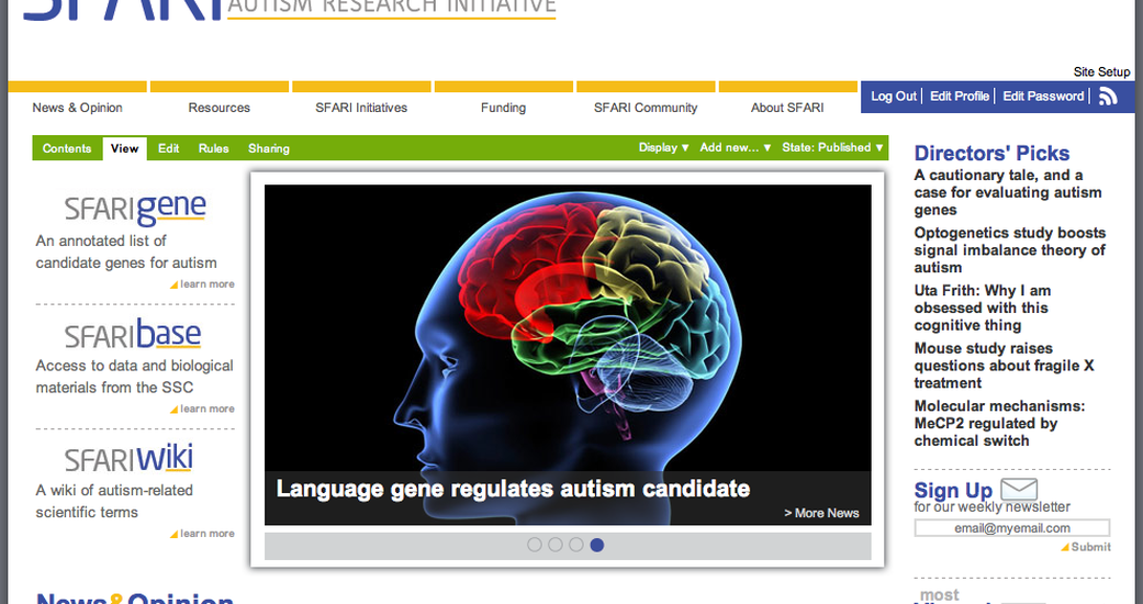 Six Feet Up Launches New Site for the Simons Foundation Autism Research Initiative