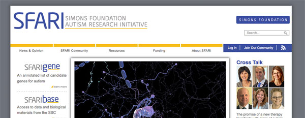 SFARI Homepage