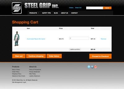SteelGrip Cart - New