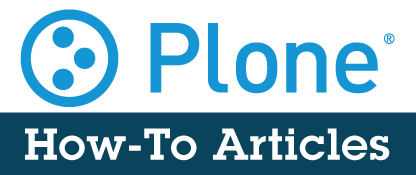 Plone How To Articles