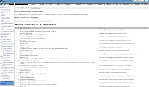 import tab screenshot