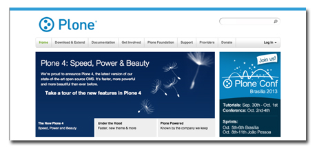 Plone.org Website Hosted by Six Feet Up