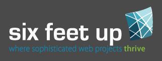 Six Feet Up new logo