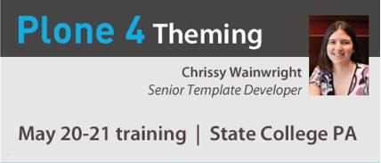 Plone 4 Theming Training