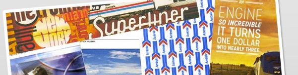 Amtrak History Tickets Imagery