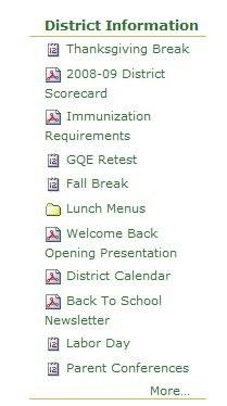 District Info