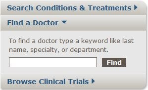Homepage Search Doctors