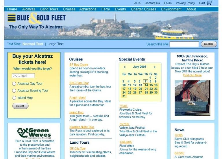 Blue and Gold Fleet