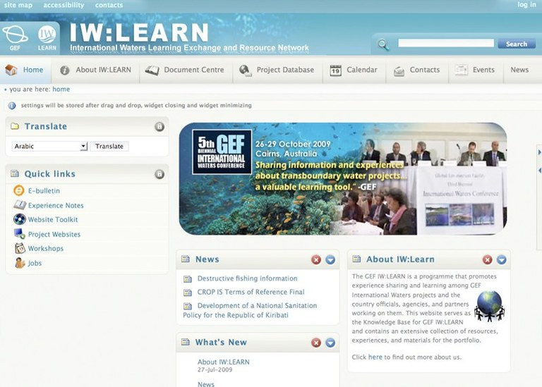 United Nations Environment Program: IW: LEARN