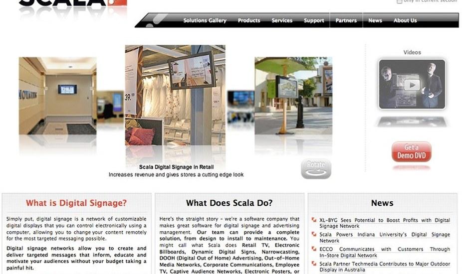Data Driven Website