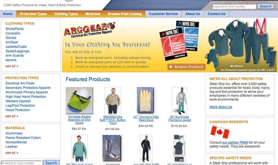 Steel Grip, Inc.